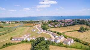 A bird's-eye view of Seaview Holidays - Salterns Village