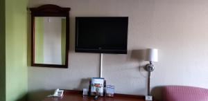 A television and/or entertainment center at Newport News Inn