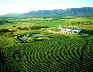 A bird's-eye view of Hunter Valley Resort