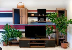 A television and/or entertainment center at HOMERENT LARGE wHIGH STANDARD near SUBWAY st.