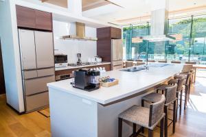 A kitchen or kitchenette at Ki Niseko