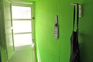 A bathroom at Hospedaje Don Alberto