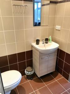 Koupelna v ubytování Apartmány Dagmar