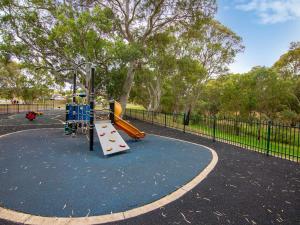 Children's play area at Windsor Gardens Caravan Park