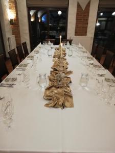 Reštaurácia alebo iné gastronomické zariadenie v ubytovaní St. Petrus Vini