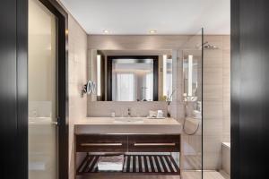 A bathroom at The Inbal Jerusalem