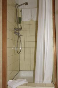 Een badkamer bij Hotel Staubbach