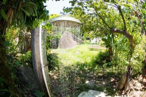 A garden outside Pousada Casa Grande