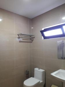 Ванная комната в Belgrade Rustaveli Hotel