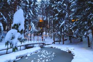 Plitvice Holiday Resort during the winter