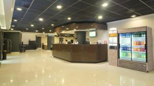 El vestíbulo o zona de recepción de Hotel Diego de Almagro Santiago Centro