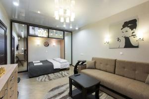 Гостиная зона в Апартаменты «Мякинино-Крокус»