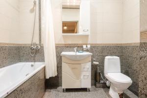 Ванная комната в Гостиница Белые журавли