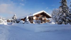 Gästehaus Christophorus im Winter