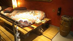 A bed or beds in a room at Apartment Cuba Zen Actitud