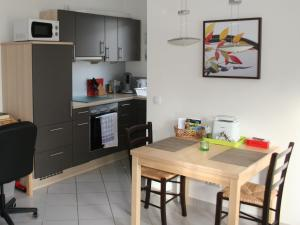 Küche/Küchenzeile in der Unterkunft Ferienwohnungen Familie Schwarze