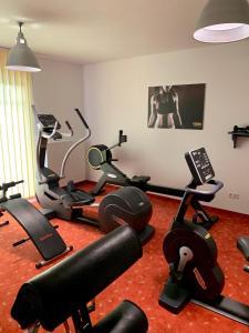 Fitnesscentret og/eller fitnessfaciliteterne på Kurhaus Devin