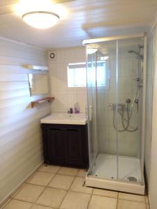 Et bad på Trolltunga Apartments