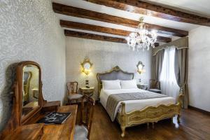 Un ou plusieurs lits dans un hébergement de l'établissement Palazzo San Lorenzo