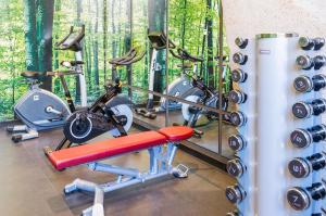 The fitness center and/or fitness facilities at Hotel Novotel Sevilla