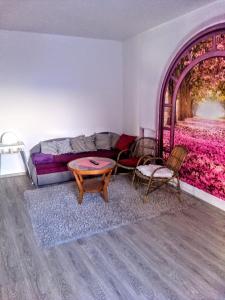 Posezení v ubytování Domek na Betlémě