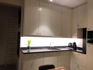 A kitchen or kitchenette at Duinenwachter