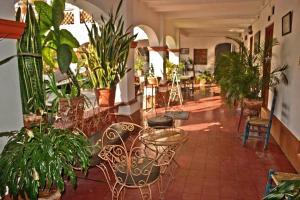 El vestíbulo o zona de recepción de Hotel Posada Santa Anita