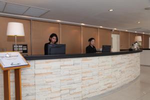 Staff members at Miracle Suvarnabhumi Airport