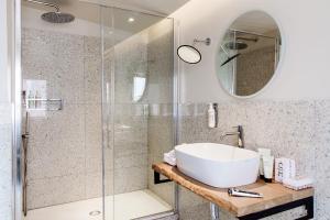 Salle de bains dans l'établissement Condominio Monti Boutique Hotel