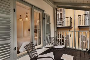 A balcony or terrace at The Drisco – The Leading Hotels of The World
