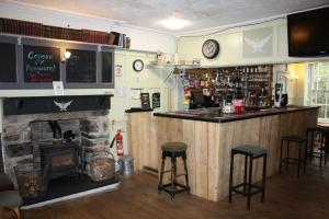 The lounge or bar area at Y Pengwern