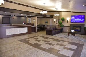 The lobby or reception area at Best Western Plus Las Vegas West