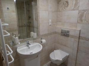 Łazienka w obiekcie Apartamenty Pod Różami