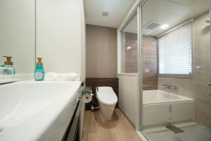 A bathroom at Miyako City Tokyo Takanawa