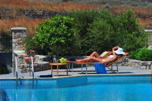 Πισίνα στο ή κοντά στο Pleiades Eco Houses
