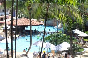 A view of the pool at Hotel Taiyo or nearby