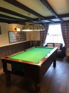 A pool table at The Lethbridge Arms
