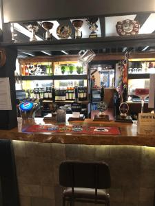 The lounge or bar area at The Lethbridge Arms
