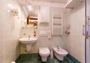 Ein Badezimmer in der Unterkunft Hotel Marko