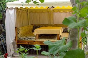 Кровать или кровати в номере Дом Сова