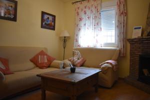 Zona de estar de Alojamientos Rurales la Loma