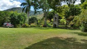 A garden outside Silver Hill Select
