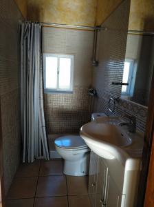 A bathroom at Casa rural La Franca