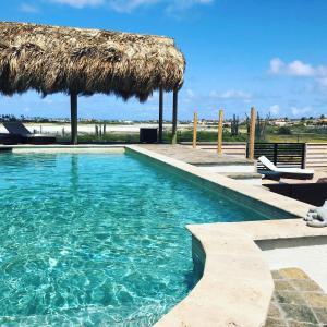 A piscina localizada em Villaruba ou nos arredores