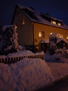 Ferienhaus Günther зимой