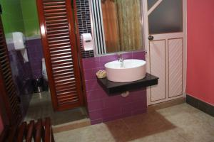 Ванная комната в Hotel Platinum Class