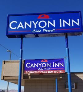 Das Logo oder Schild des Motels