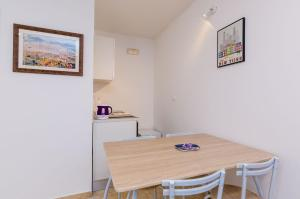 Dining area in the apartment