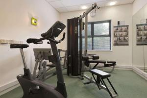The fitness center and/or fitness facilities at Ramada Plaza Wrexham