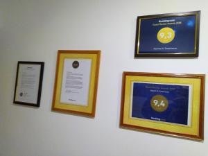 Сертификат, награда, вывеска или другой документ, выставленный в Home in Yasenevo